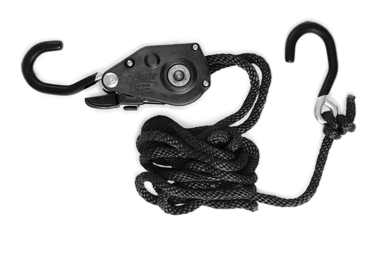 Quickie Ratchet Rope Tie Down - 3/8\