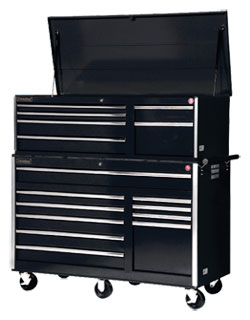15 Drawer V Series Cabinet - 75""