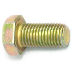 "Hex Head Cap Screw 7/16"" UNC - Grade 8 / Yellow Zinc"