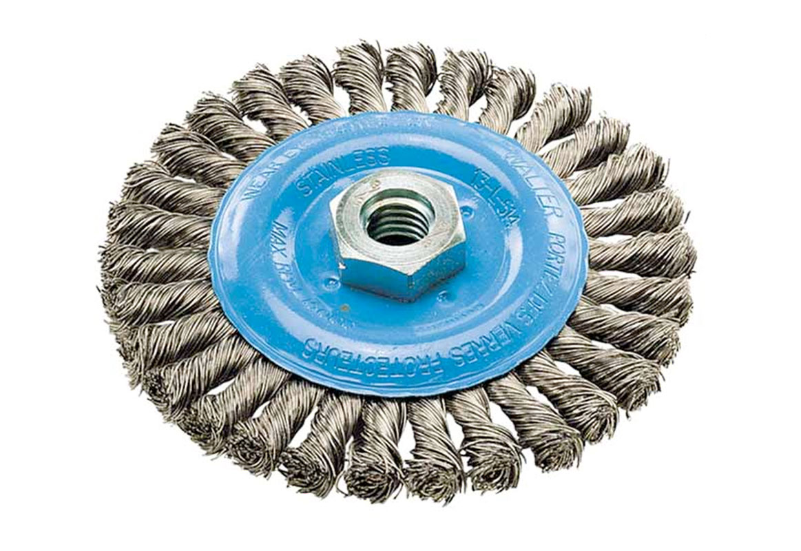Walter Surface Technologies Wire Wheel Brushes - 0.020\