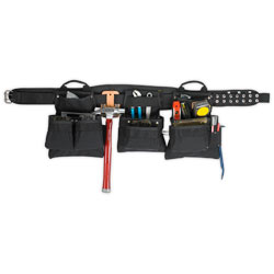 Tool Belt - 18 Pockets - Ballistic Nylon / AP760 Series *PRO CARPENTER