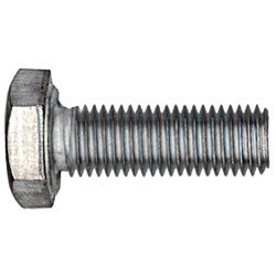 "Hex Head Cap Screw 1/4"" UNF - Grade 5 / Zinc"