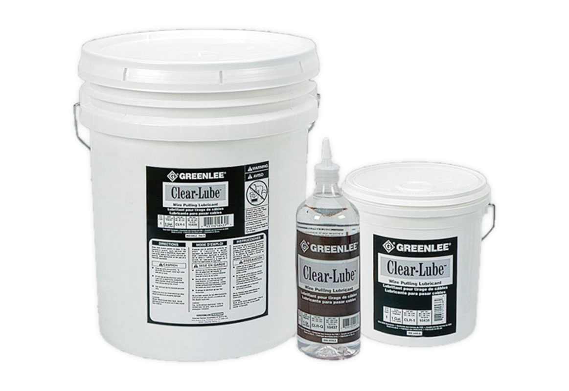 Greenlee 5gal. - Clear Lube Wire Pulling Lubricant