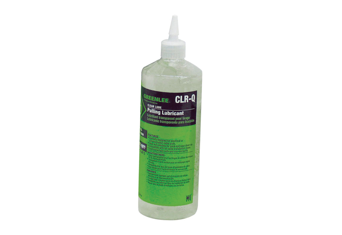 Greenlee 1qt. - Clear Lube Wire Pulling Lubricant