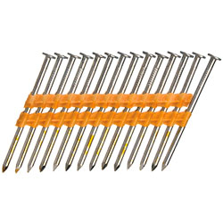 21° Smooth Shank Nails / Bright Steel - Plastic Collated