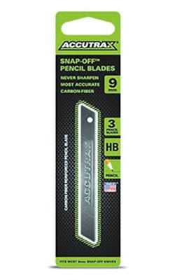 Carbon Fiber Snap-Off HB Pencil Blades