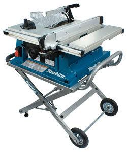 "Table Saw w/ Stand - 10"" dia. - 15.0 amps / 2705X1"