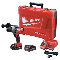 Milwaukee Power Tools Hammer Drill/Driver Brushless M18 FUEL™ (Kit) - 1/2