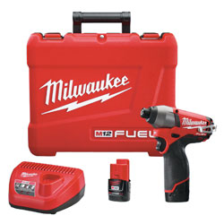 "Impact Driver Brushless M12 FUEL™ - 1/4"" Hex Chuck - 12V Li-Ion / 2453 Series"