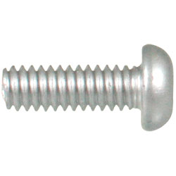 Round Head 1/4-20 Robertson Machine Self-Drilling Screw / RUSPRO® COATED