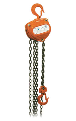 20' Lift - Super Heavy Duty L-90 Series Chain Hoist - 2 tons