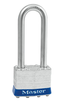 "Tumbler Padlock - 2-1/2"" x 1-3/4"" - Reinforced Laminated Steel / Model #1UPLJ"