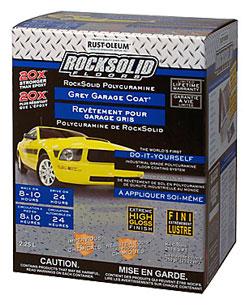 Garage Paint (Kit) - Grey - 2.25L / 282151 *ROCKSOLID