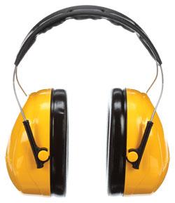 Earmuffs - ABS - Over-the-Head - 26 NRR / H9A *PELTOR OPTIME 98™