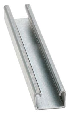 """Strut Channel - 1"""" - Single - 10' / 316 Stainless Steel *12 GAUGE"""