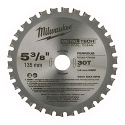 "Circular Saw Blade - 5-3/8"" - 30T / 48-40-4070 *METAL TECH™"