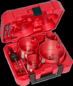 Hole Saw Kit - 8 PC - Carbide / 49-56-9285 *BIG HAWG