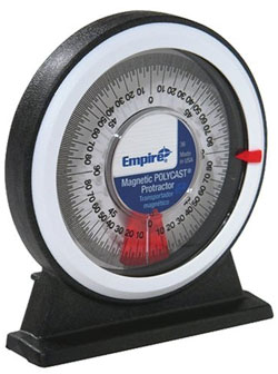 Protractor - Magnetic - Polycast / 36