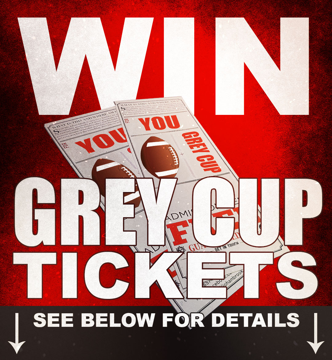 Win Grey Cup Tickets with Milwaukee and Calfast