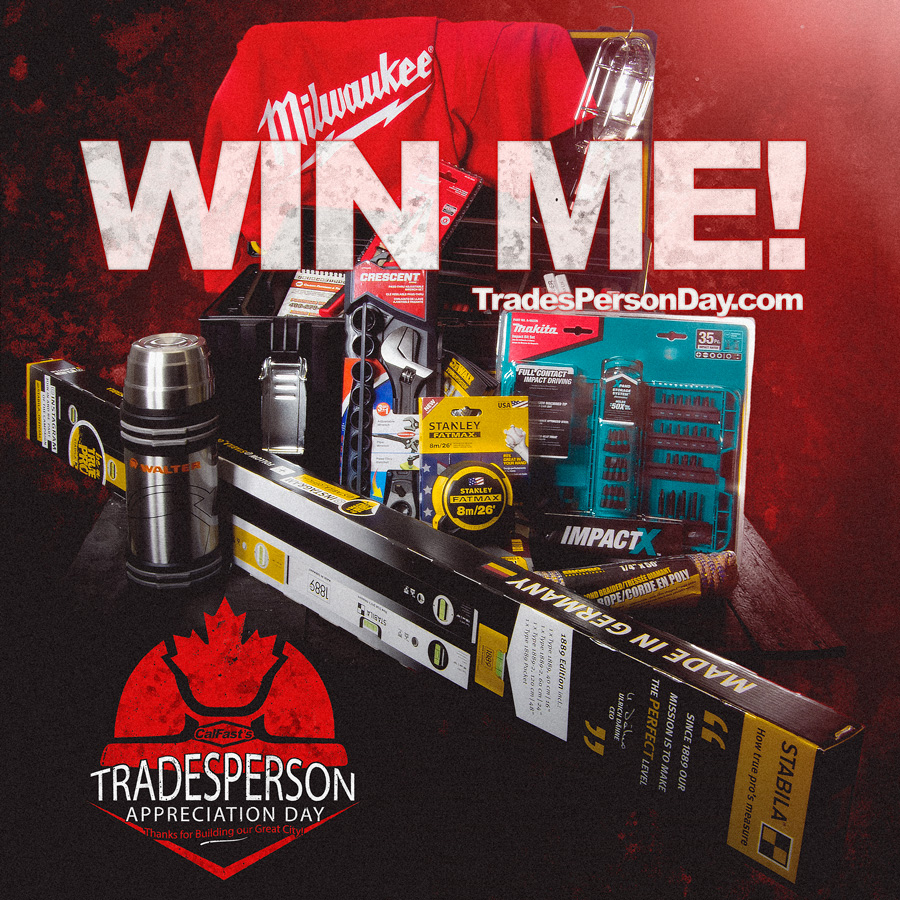 Win with Tradesmen Day in Calgary