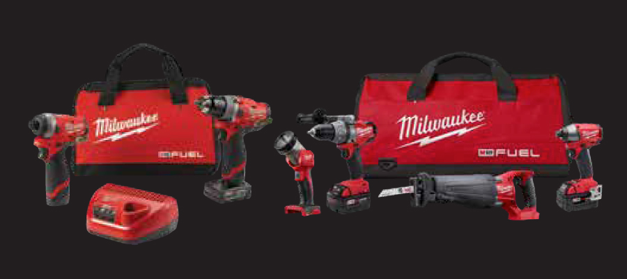 Milwaukee Tools CTC Raffle Products at Calfast
