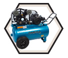 Air Compressor - Wheelbarrow - 5 HP - 20 gal / PK-5020