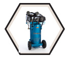 Air Compressor - Wheelbarrow - 5 HP - 20 gal / PK-5020V