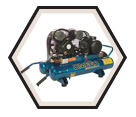 Air Compressor - Wheelbarrow - 1.5 HP - 8 gal / PUK-1508MDC