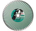 "Super Dry Turbo Diamond Blade - 7"" x 0.080"" / ◊ ~ 7/8"" - 5/8"" Arbor"