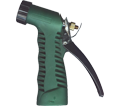 Water Nozzle - Green - Vinyl Coated / GHN *INDUSTRIAL