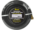 "Water Hose - 1/2"" - Black - Rubber / WH10BLK Series *INDUSTRIAL"