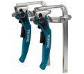 Guide Rail Clamps Set - Ratcheting - Quick-Release / 199826-6
