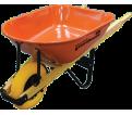 Wheelbarrow - 6 cu. ft. - Orange - Steel / W000429N