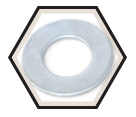 Flat Washers - S.A.E. - Low Carbon Steel / Zinc