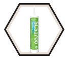 Silicone Sealant: Sanitary - 299mL Cartridge / SCS 1700