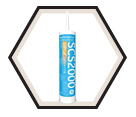 Silicone Sealant: Silpruf* - 299mL Cartridge / SCS2000