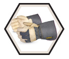 Fitter Gloves - Lined - Full Grain Cowhide / 76GR