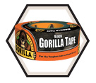 Tape - Duct - Black / 60000 Series *GORILLA