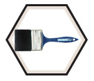 Polyester Flat Brush