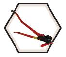 "Single Size Threaded Rod Cutter 3/8"" UNC"