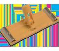 "Aluminum Pole Sander - 9-38"" x 3-3/8"""