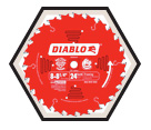 Diablo Framing / Construction Blade - 8-1/4""