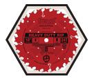 """Circular Saw Blade - 10"""" - 24T / LM72R010"""