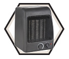 Electric Heater - 1500W / 120V *Ceramic