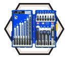 Impact Driver Bit Set - 19 Pc - Drill & Drive / 1840316