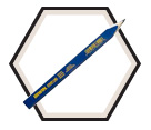 Carpenter Pencil - Hard Lead / 66302