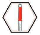 "Bearing Flush Trim Bit - 1/2"" / 42-114"