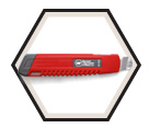 Utility Knife - Safety Lock / LC-405