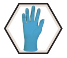 Disposable Gloves - Powder Free - Nitrile / 573 Series *KLEENGUARD G10