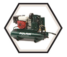 Wheelbarrow Air Compressor - 5.5 HP - 9 gal / 4090HK1755HP